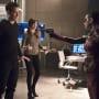 Gun Is Still Raised - The Flash Season 2 Episode 16