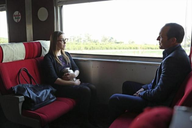 SHIELD Agents on a Train