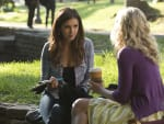 Elena on Campus - The Vampire Diaries