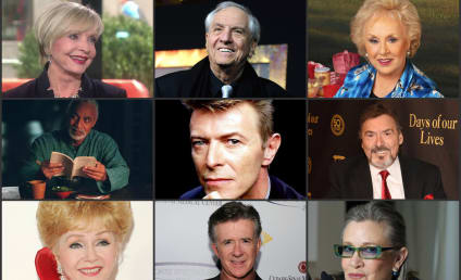 TV Entertainers Who Passed Away in 2016