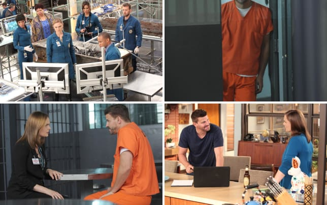 Brennan and her team work to get booth released bones s10e1