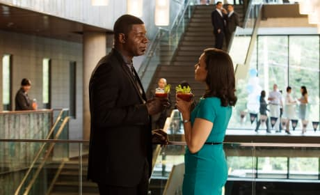 Julian and his Wife Share a Moment - Incorporated Season 1 Episode 7