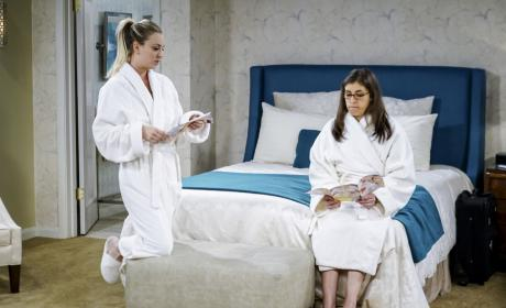 Spa Weekend! - The Big Bang Theory