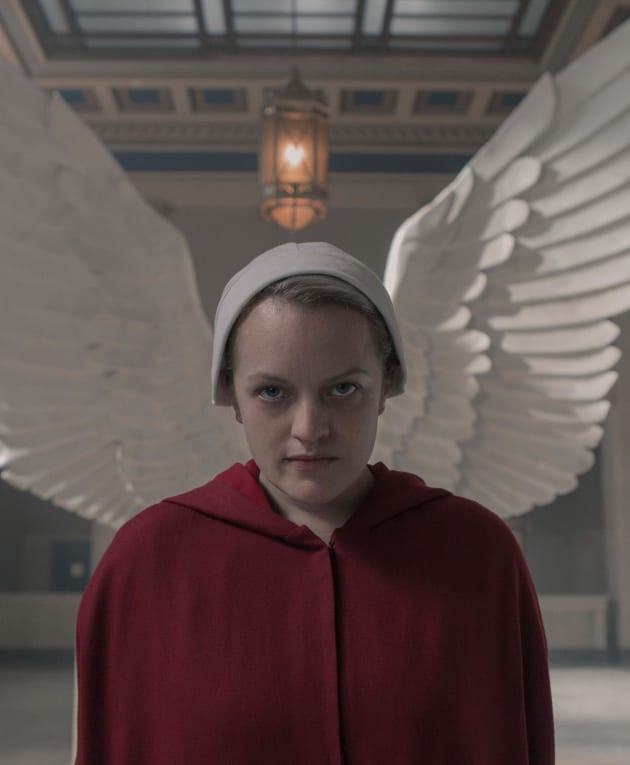 Wings of Protection - The Handmaid's Tale