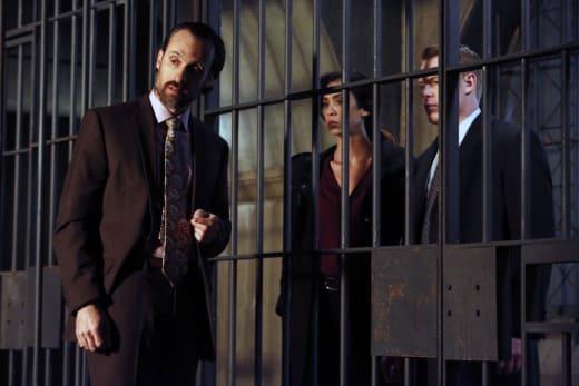 Ressler and Samar check out the jail - The Blacklist Season 4 Episode 13