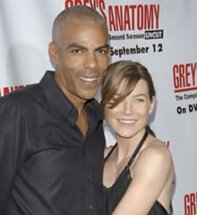 Chris Ivery and Ellen Pompeo