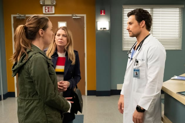 Jo Returns  - Grey's Anatomy Season 15 Episode 24