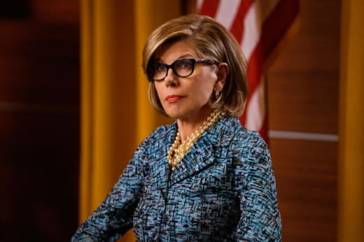 Diane at Grand Jury - The Good Fight
