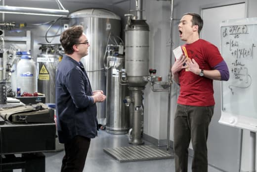 Sheldon is Shocked - The Big Bang Theory Season 10 Episode 15