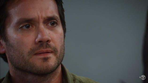 Dante Mourns Nathan — General Hospital