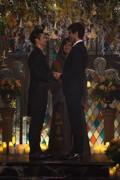 Malec Weds - Shadowhunters Season 3 Episode 22