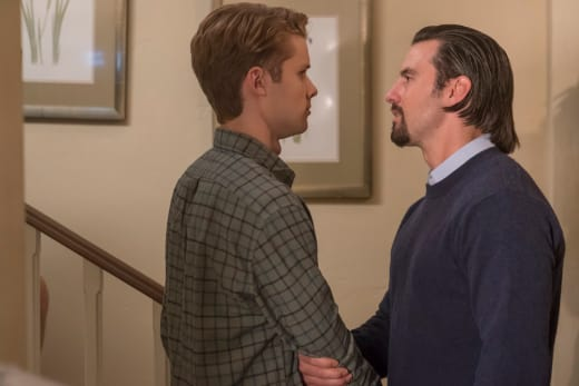 Kevin and Jack Have a Heart to Heart - This Is Us Season 2 Episode 8