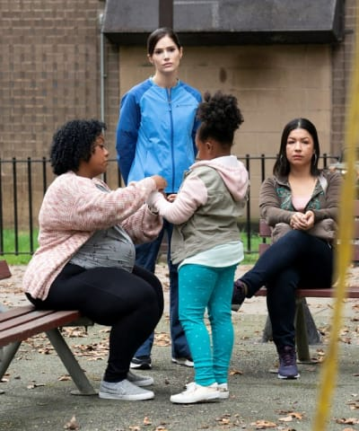 Helping the Community - tall  - New Amsterdam Season 4 Episode 4
