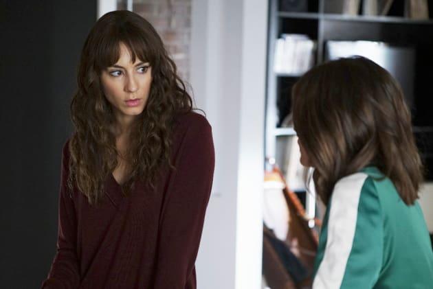 No, Aria! - Pretty Little Liars Season 7 Episode 9