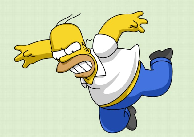 Pissed Off Homer