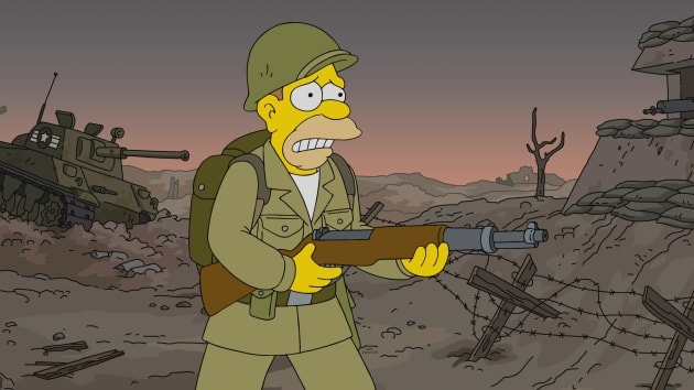 A Post-War Toy Model - The Simpsons