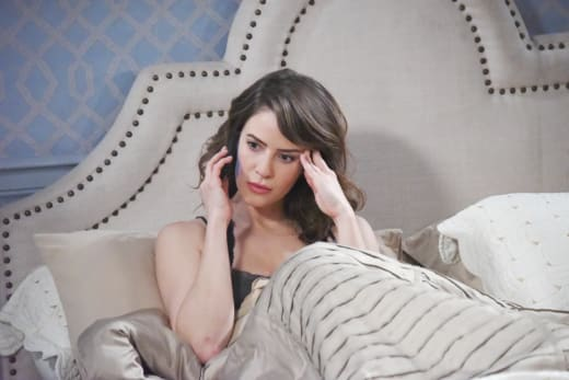 Sarah's Unsettling News - Days of Our Lives