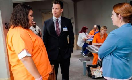 Nathaniel in Prison - Crazy Ex-Girlfriend Season 4 Episode 7