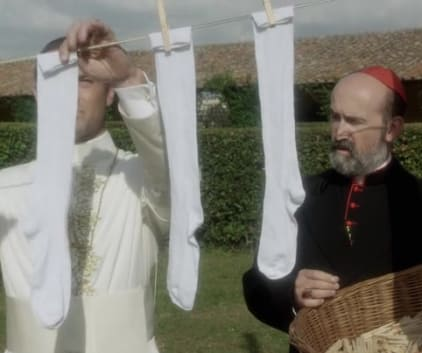 Hanging Socks - The Young Pope Season 1 Episode 10