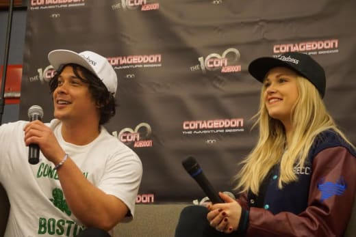 Bob and Eliza at Conageddon  - The 100