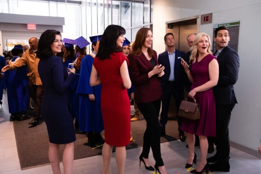 Family and Friends at Graduation - Good Witch Season 5 Episode 10