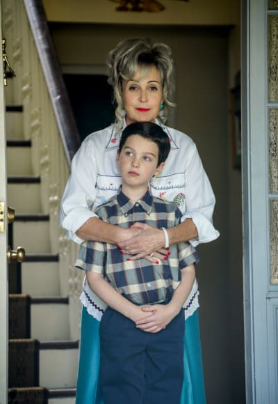 MeeMaw and Sheldon - Young Sheldon