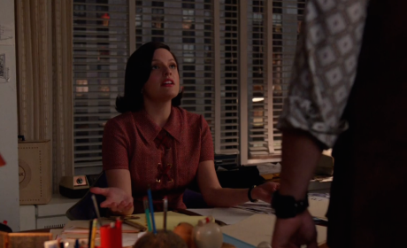 Peggy and Stan Argue - Mad Men