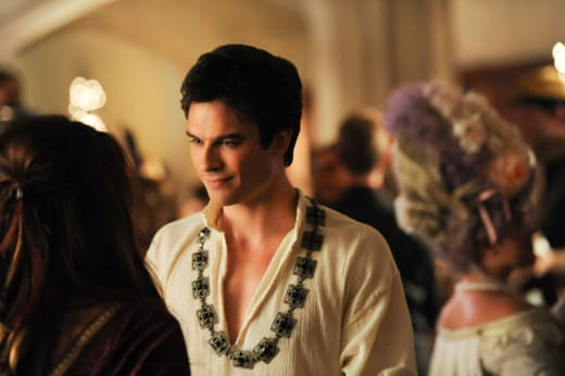 Damon as Henry VIII