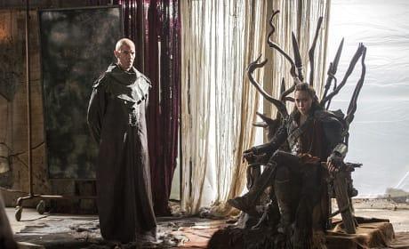 Lexa's Throne of Thorns - The 100 Season 3 Episode 3