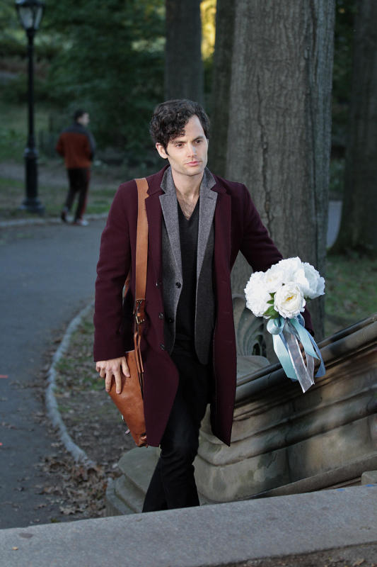 Lonely Boy With Flowers