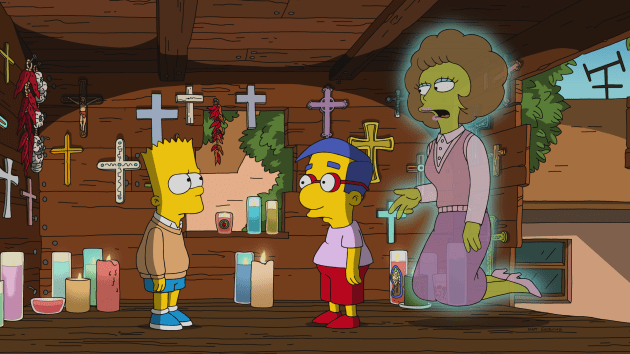Seeing Ghosts - The Simpsons