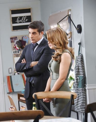 (TALL) Rafe Takes Jordan's Side - Days of Our Lives