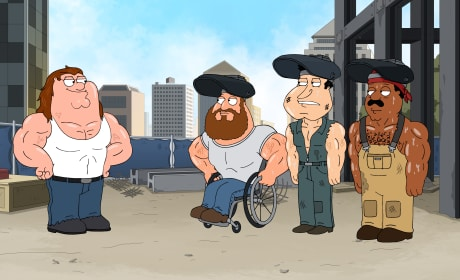 Peter and Friends - Family Guy Season 16 Episode 5