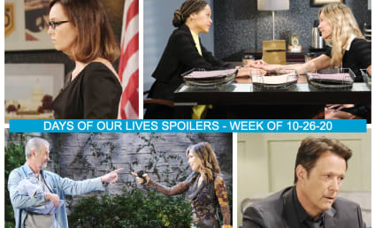 Days of Our Lives Spoilers Week of 10-26-20: Salem Turns Violent