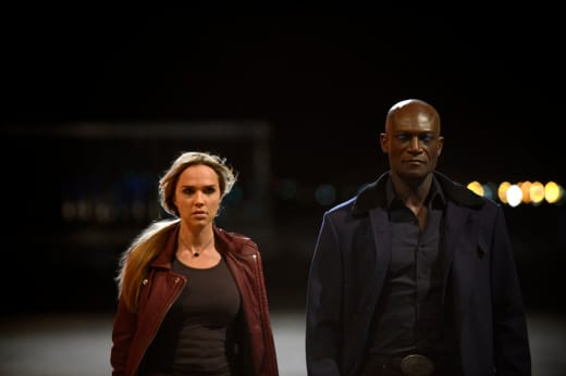 Lem and Olivia - Midnight, Texas Season 1 Episode 2