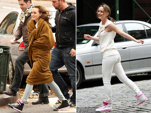 Leighton Meester For Reebok