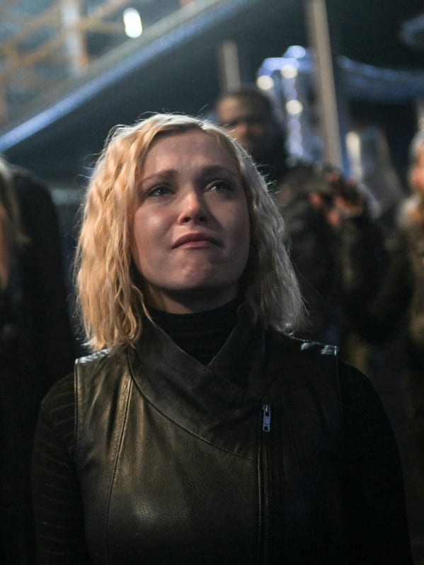 Clarke gives in the 100 s6e13