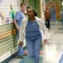 Stephanie Runs to Help - Grey's Anatomy Season 11 Episode 19