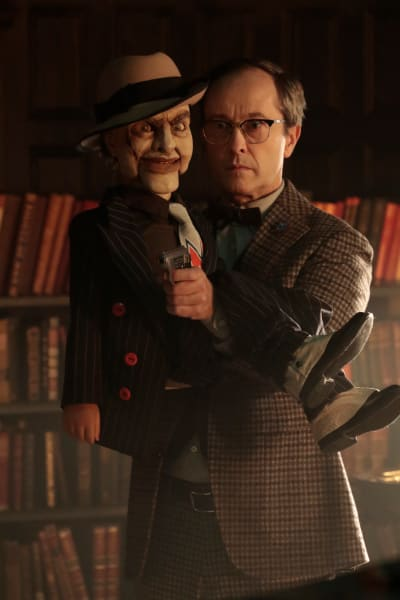 Penn and Scarface - Gotham Season 5 Episode 8