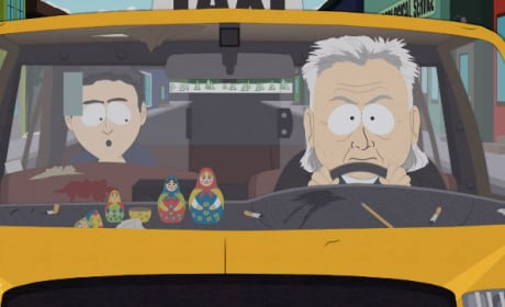 The Taxi Driver - South Park