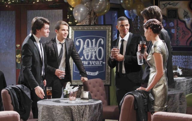 The Salem Teens on New Year's Eve - Days of Our Lives