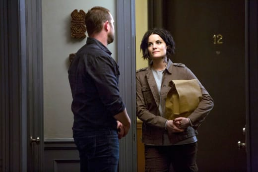 Jane Comforts Weller - Blindspot Season 2 Episode 12