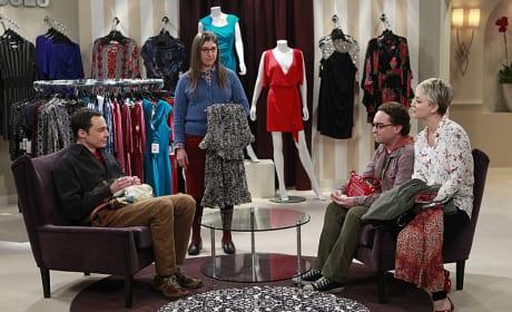 Dress Shopping - The Big Bang Theory
