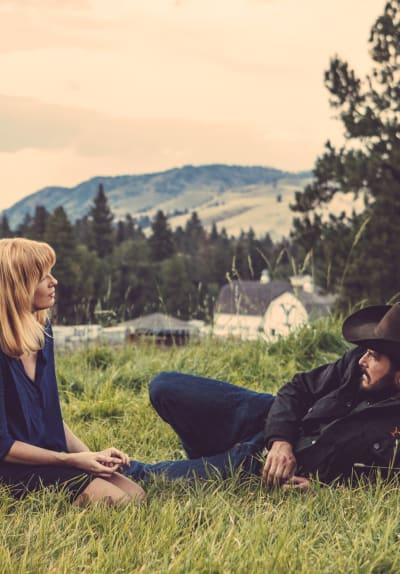 Beth and Rip - Yellowstone Season 2 Episode 2