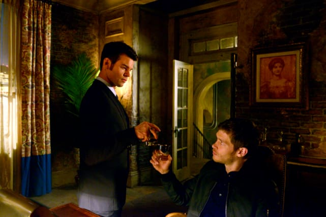 Klaus and Elijah Mikaelson