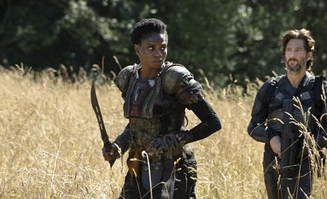 Indra Joins The Search - The 100 Season 3 Episode 2