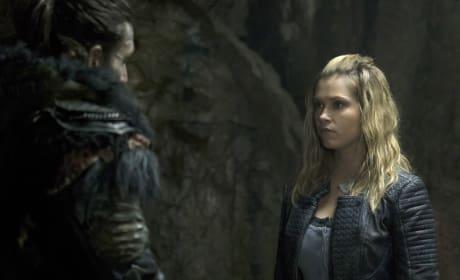 A Tense Meeting – The 100 Season 4 Episode 5