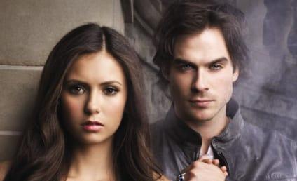 Delena Forever? The Vampire Diaries Poster Teases Damon/Elena Romance