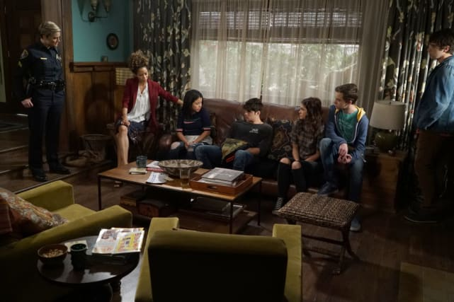 Under lockdown the fosters