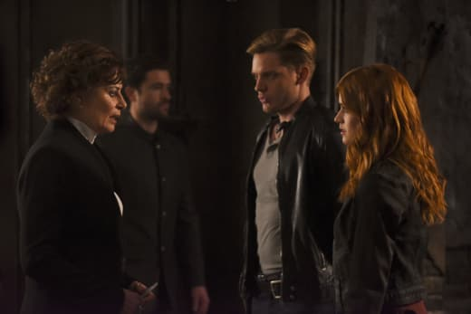 Getting Down To The Truth - Shadowhunters Season 2 Episode 11